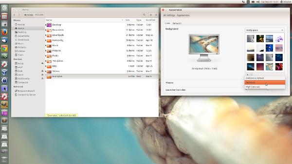 How to customize your ubuntu desktop ubuntu radiance theme reheart Images