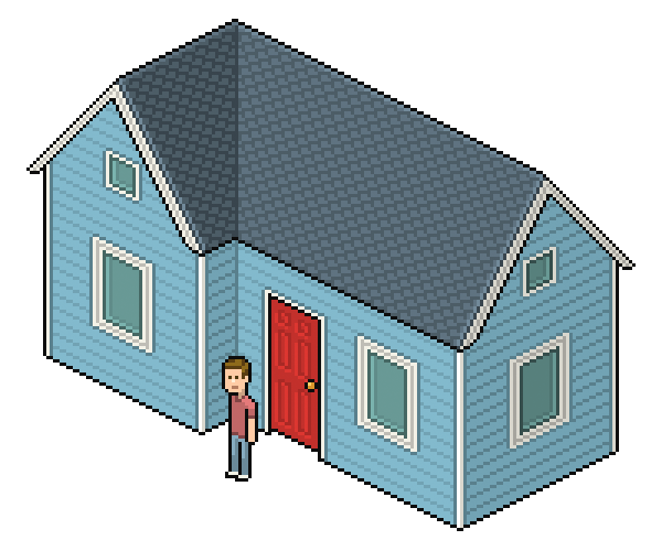 http://design.tutsplus.com/tutorials/create-an-isometric-pixel-art-house-in-adobe-photoshop--cms-22088