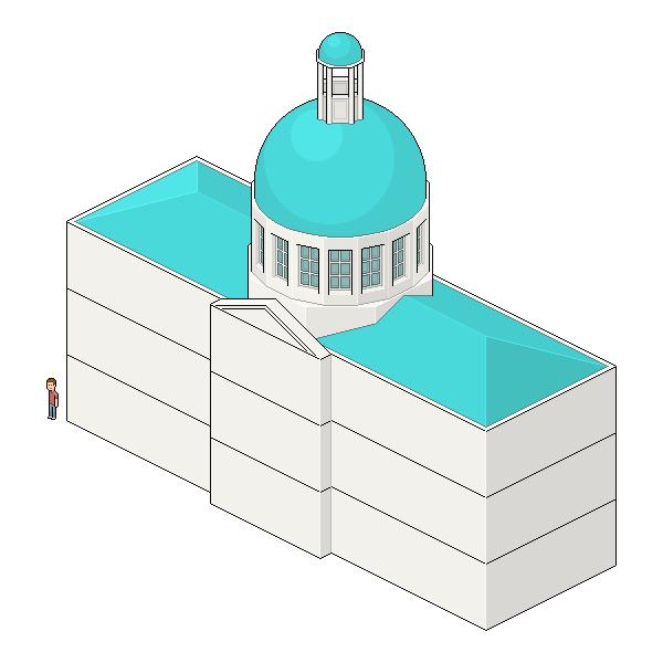 adding depth to pediment