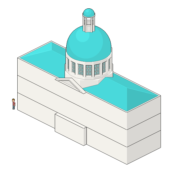 clearing space for columns