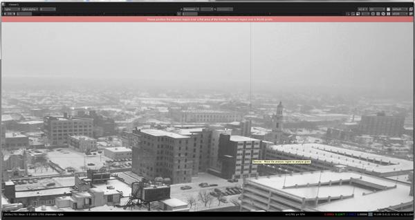 Create an Atmospheric Snow Shot in Nuke and Maya