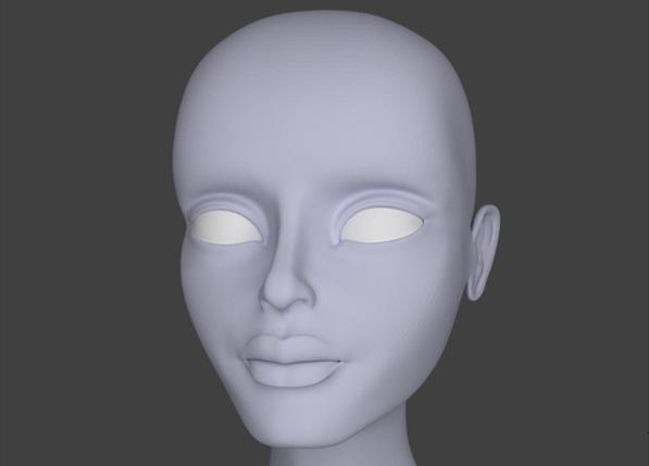 Blender Character Modeling Course : Female character modeling in blender part