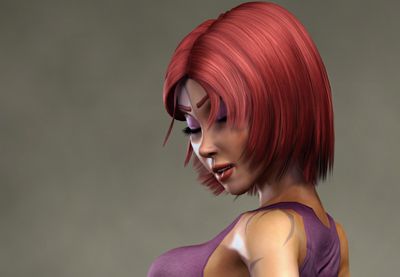 Preview for Game Character Creation Series: Kila Chapter 9 - Hair Rigging