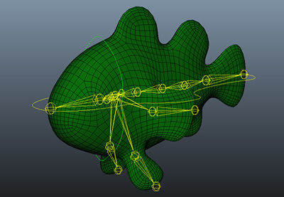 Maya fish rig retina