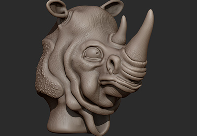 Preview for Creature Sculpting in ZBrush: Part 3