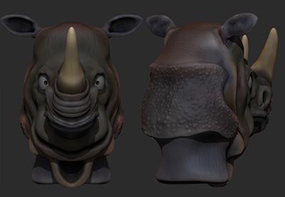 Zbrush creature modeling part 4 retina