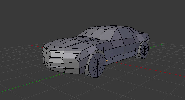 Create a Low Poly Camaro in Blender: Part 1