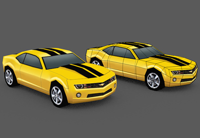 Blenbder low poly car pt2 retina