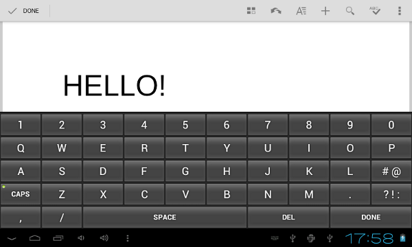 Create a Custom Keyboard on Android