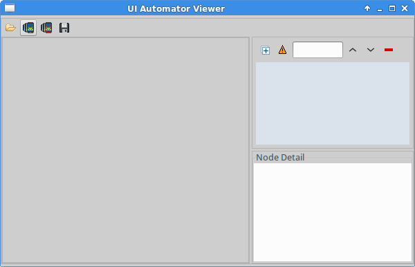 UI Automator Viewers interface