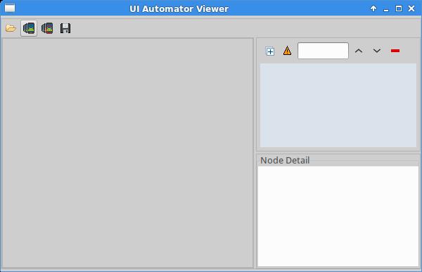 UI Automator Viewers interface