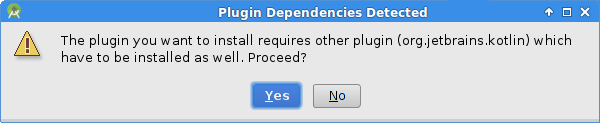 Plugin Dependencies Detected