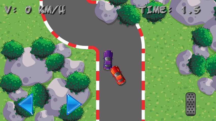 Mini car racing screenshot