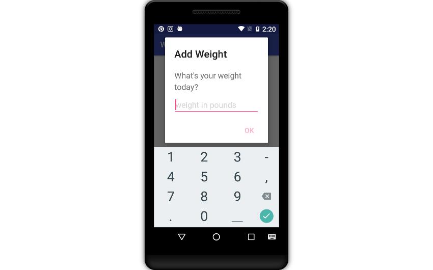 Create a Weight Tracker App With Cloud Firestore