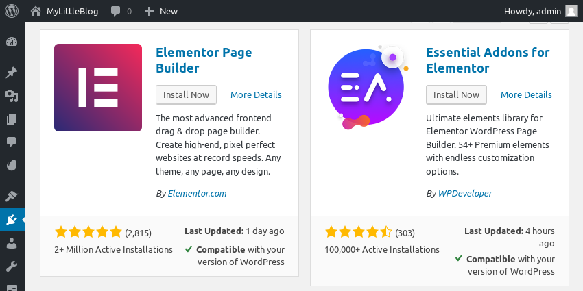Create Websites Fast With the Elements Plugin for WordPress