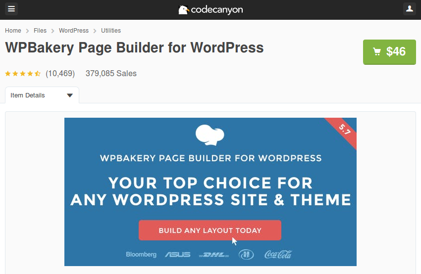wpbakery page builder license key