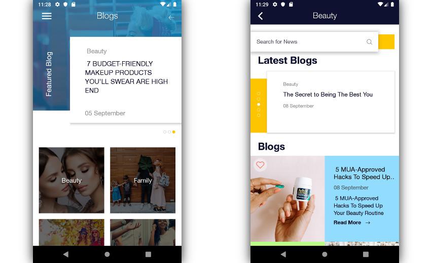 WordPress blog layouts