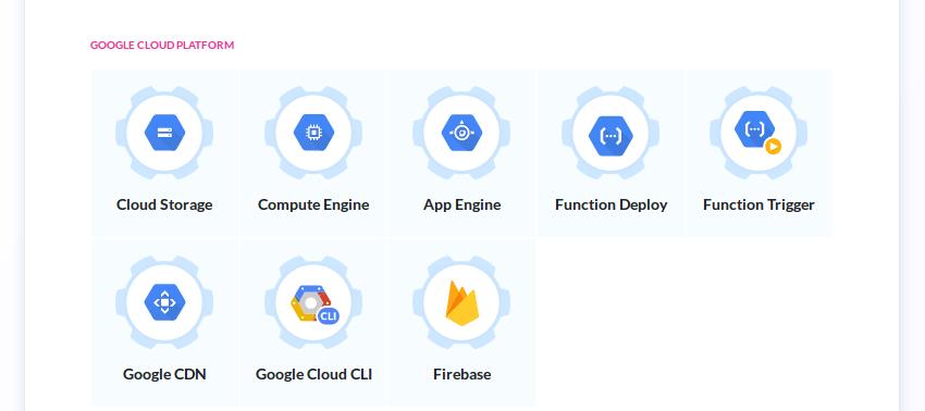 Google Cloud Platform actions
