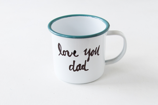 Love You Dad Mug DIY