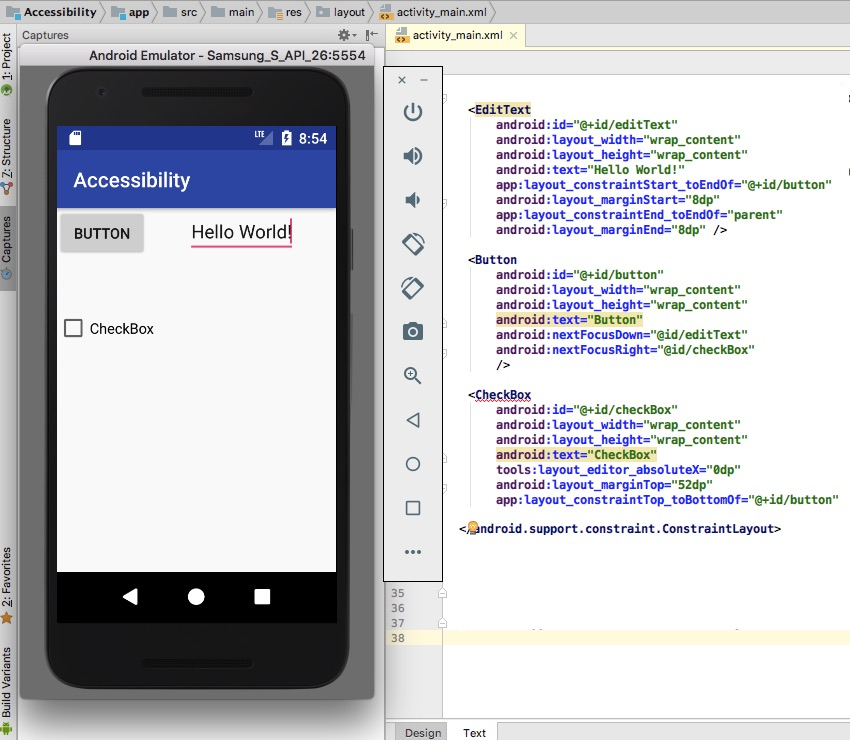 Creating Accessible Android Apps: Assistive Technologies