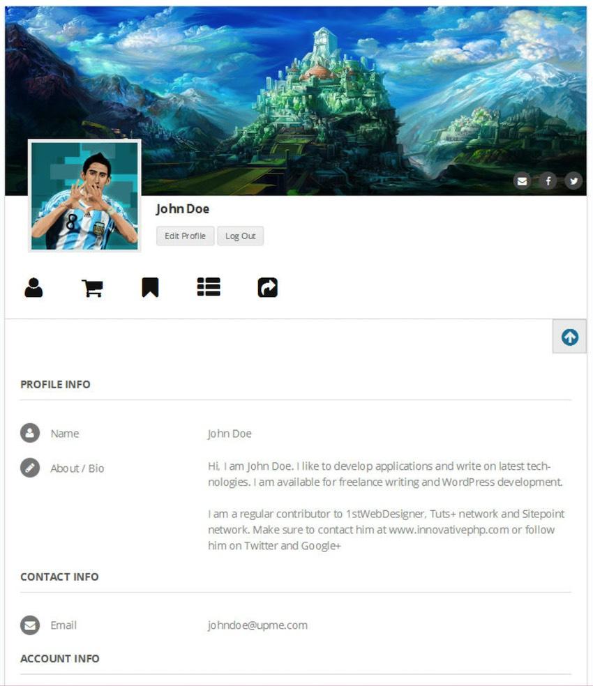 UPME Member List Plugin WordPress