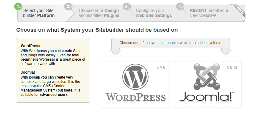 AwardSpace makes it easy to create a WordPress website