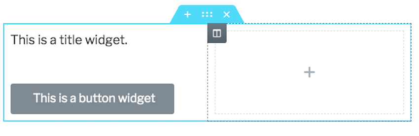 Even if youve selected a single-column structure you can add extra columns to your section