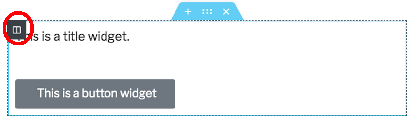 You can simplify a section by removing unwanted columns from that section