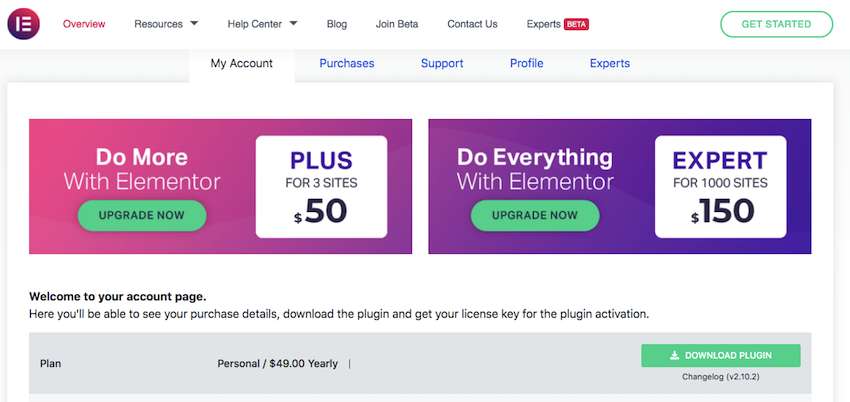 If you havent already setup Elementor then youll need to purchase and download the Elementor Pro plugin