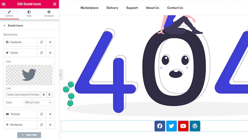 Wordpress 404 template