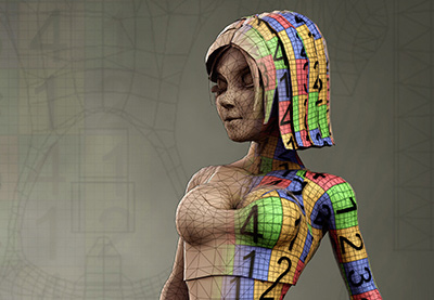 Preview for Game Character Creation Series: Kila Chapter 3 – UV Mapping