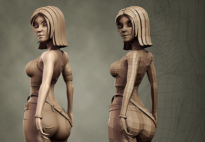 Preview for Game Character Creation Series: Kila Chapter 2 – Low Resolution Modeling