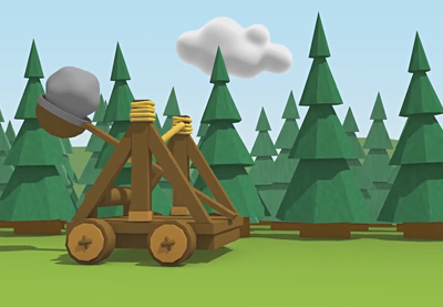 Preview for Create a Dynamic Catapult Animation in Cinema 4D: Part 2