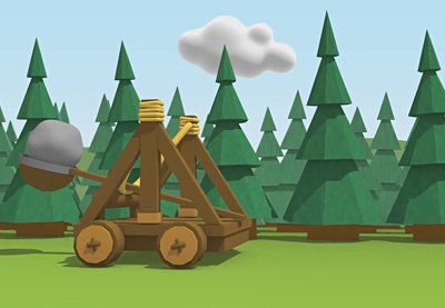 Preview for Create a Dynamic Catapult Animation in Cinema 4D: Part 1