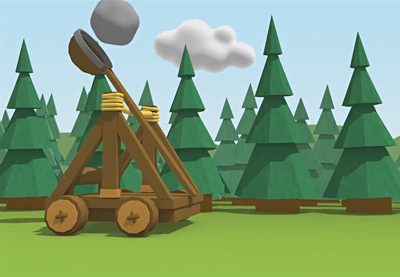 Preview for Create a Dynamic Catapult Animation in Cinema 4D: Part 4