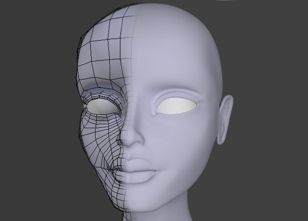 Character Modeling In Blender : Female character modeling in blender part