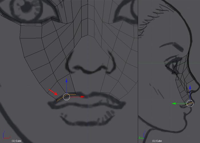 Female Character Modeling In Blender Part 1 : Female character modeling in blender part