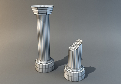 Preview for Quick & Easy Pillars in 3ds Max