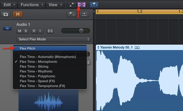 Getting Creative with Logic Pro X's Flex Audio Features