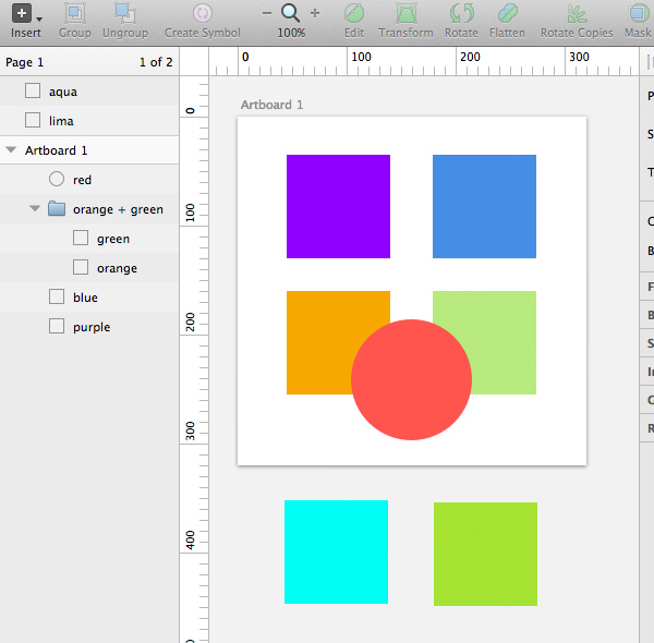 Understanding Sketch's Export Options