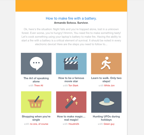 Sketch for Beginners: Design a Bold Email Newsletter
