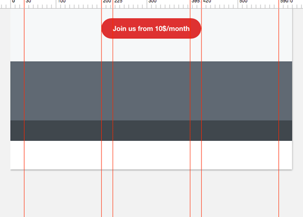 Designing the footer