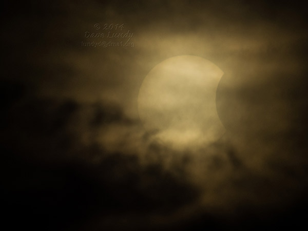 Occulted eclipse