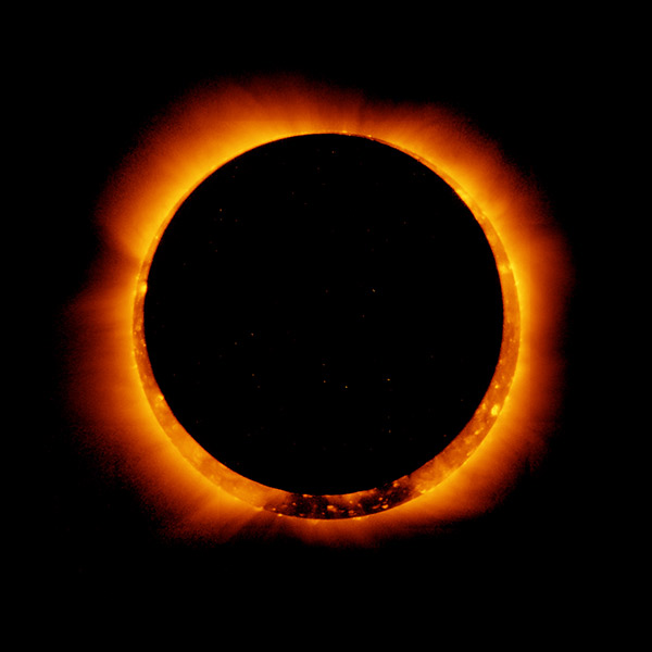 2011 Solar Eclipse from NASA Goddard