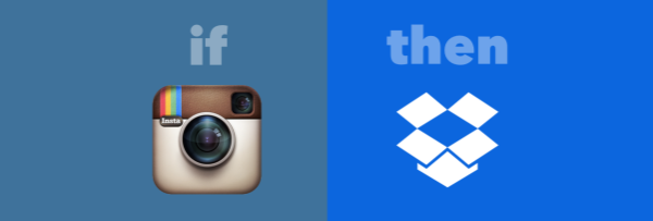 If Instagram then Dropbox