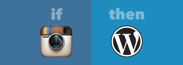 If Instagram then Wordpress