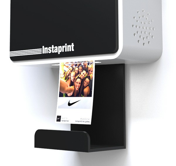 Instaprint hashtag printer