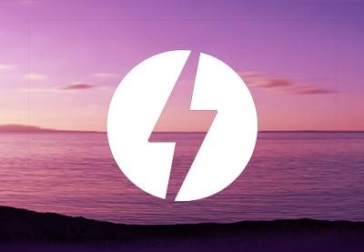 Amp logo sunset