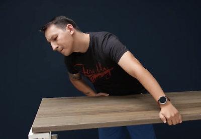 Presentation bench