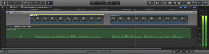 How To Synchronize Interview Audio and Video in Final Cut Pro X